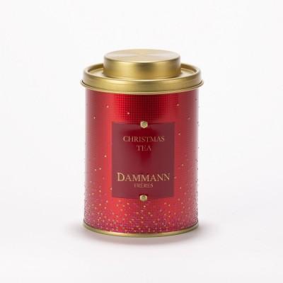 Christmas Tea rouge Dammann Frères - Boite métal 100 g