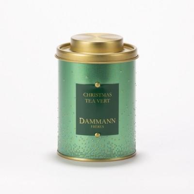 Christmas Tea vert Dammann Frères - Boite métal 100 g