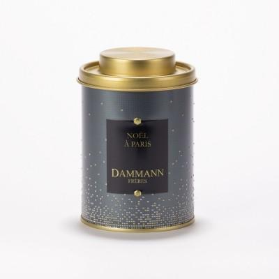 Thé noir Noël à Paris Dammann Frères - Boite métal 100g