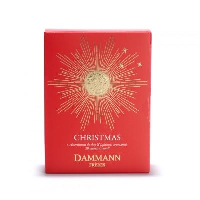 Assortiment de Noël, coffret 20 sachets Cristal®- Dammann Frères