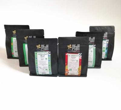 Assortiment cafés biologiques: 6 horizons