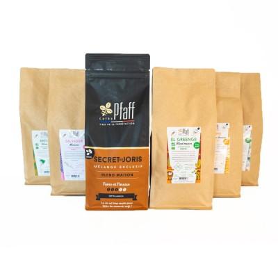 Assortiment café : 6kg cafés découverte