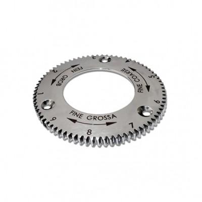 Bague de réglage pour moulin S64 en acier inoxydable diamètre 64mm
