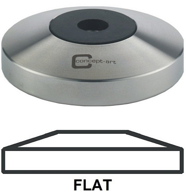 Tamper base flat avec manche en bois 57mm - [JoeFrex]®
