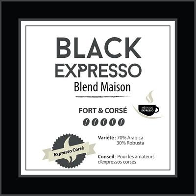 BLEND MAISON - Black Expresso - café moulu