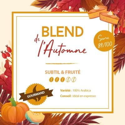 Café en grain BLEND MAISON - Blend de l'Automne