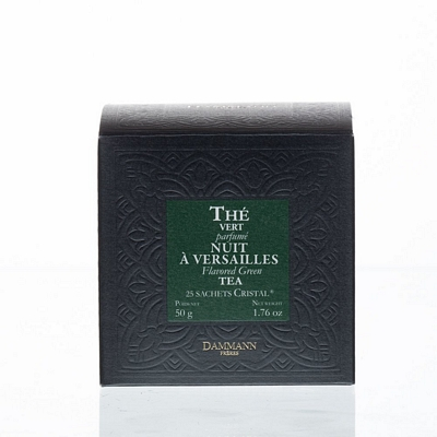 Thé vert Nuit à Versailles -  boîte 25 sachets Cristal