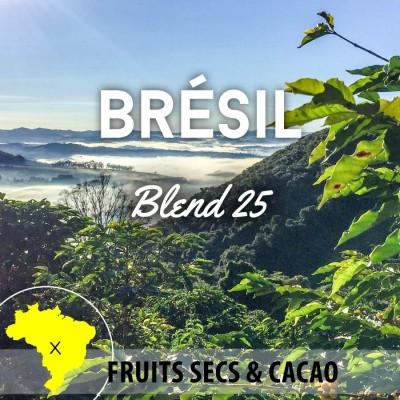 Café en grain Brésil: Expresso Blend 25