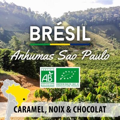 Café en grain BRESIL BIO - Anhumas Sao Paulo
