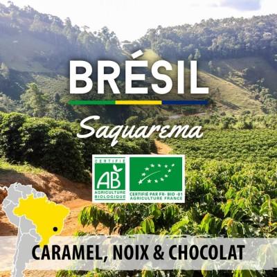 Café en grain BRESIL - Saquarema Sul de Minas Gerais BIO