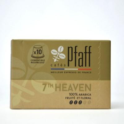 10 capsules 7Th HEAVEN compatibles Nespresso®*