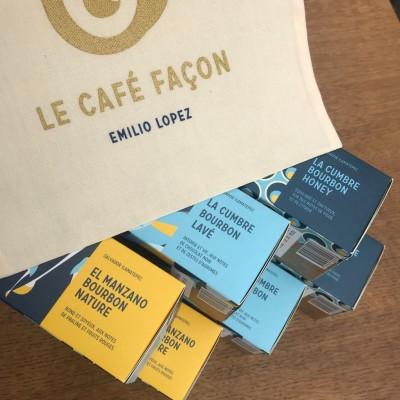 Coffret découverte d'Emilio Lopez de 30 capsules compatibles Nespresso®*