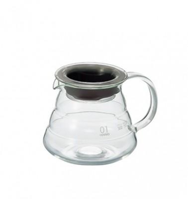 Carafe support en verre pour dripper Hario - 1 à 3 tasses