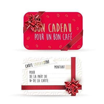 Carte Cadeau - Bon cadeau pour un bon café
