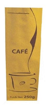 Sachet à café par carton de 1000