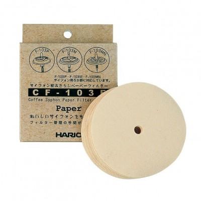 Filtres en papier Hario pour cafetière à dépression x100