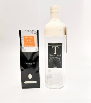 Bouteille d'infusion thé à froid - Blanche - Hario