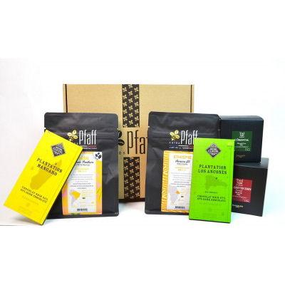 Box café, thé et chocolat: pour les gourmands