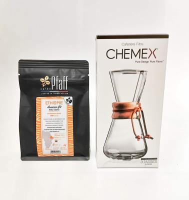 Cafetière 3 tasses classique - CHEMEX®