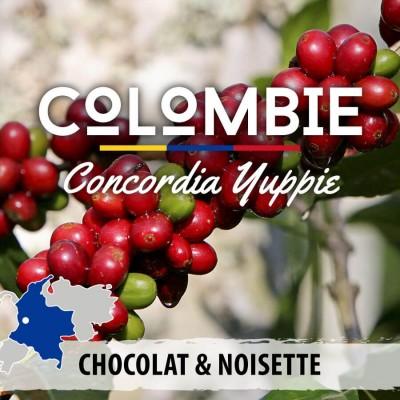 Café en grain Colombie: Concordia Yuppie