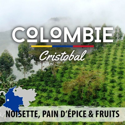 Café en grain COLOMBIE - San Cristobal - Crible 18+