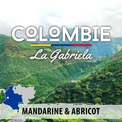 Café en grain Colombie Antioquia - La Gabriela - Caturra - Catalina