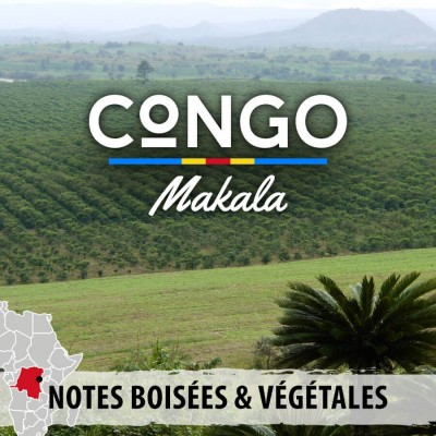 Café CONGO - Makala - Kivu Bord Lac - café moulu