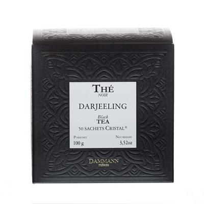 Thé Darjeeling Dammann x 50 sachets Cristal