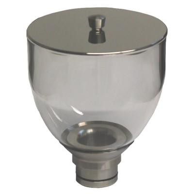 Trémie à grain en verre ECM - 500Gr