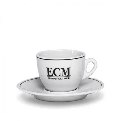 Set de 6 tasses à Cappuccino avec sous tasses ECM