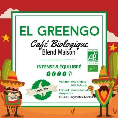 Café en grain BLEND MAISON - El Greengo - Bio