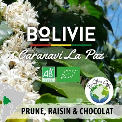 Café en grain BIO Bolivie - Caranavi - La Paz