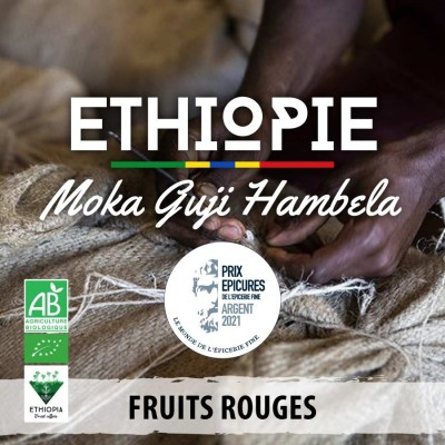 Café en grain BIO Éthiopie - Moka Guji Hambela