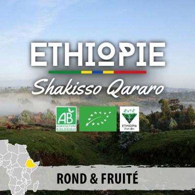 Café en grain BIO ETHIOPIE - Moka Guji - Shakisso Qararo
