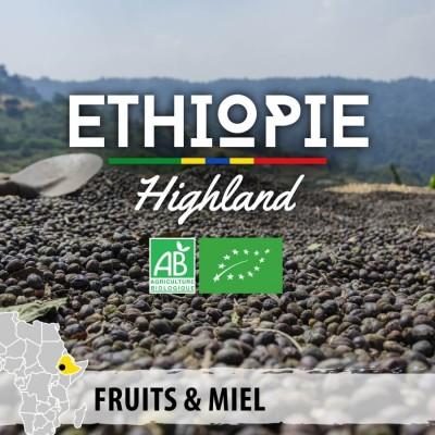 Café en grain bio Ethiopie - Wallagga