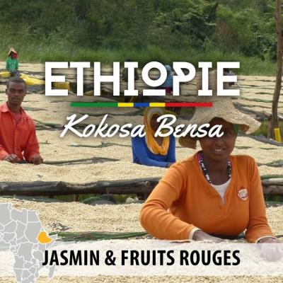 Café ETHIOPIE - Moka Sidama - Kokosa Bensa - café moulu