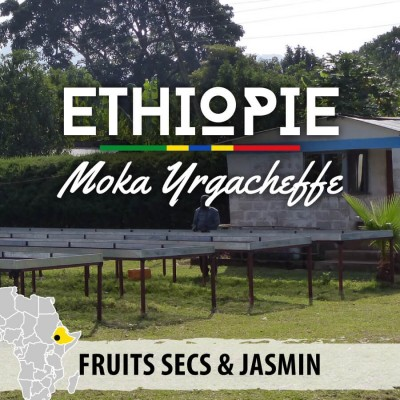 Café ETHIOPIE - Moka Yrgacheffe - Berentu G2 - café moulu