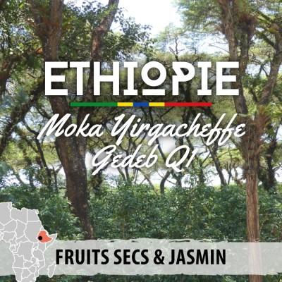 Café en grain Éthiopie - Moka Yirgacheffe Gedeb
