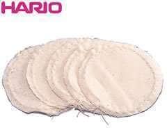 Filtre tissu FS-103  pour Cafetière à dépression Hario (TCA)  x5
