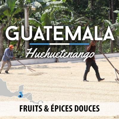 Café GUATEMALA - Huehuetenango - Pacaya SHB-EP - café moulu