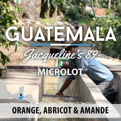 Café en grain Guatemala - Microlot Jacqueline's 89