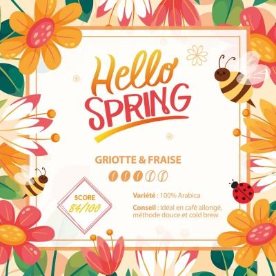 Café en grain BLEND MAISON - Hello Spring