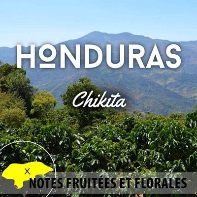 Café HONDURAS - Chikita - SHG EP - café moulu