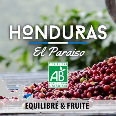 Café en grain BIO Honduras - El Paraiso