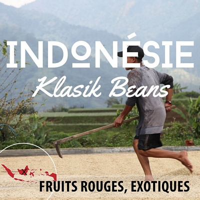 Kilo d'INDONESIE - Ile de Java - Klasik Beans grade1 en grain