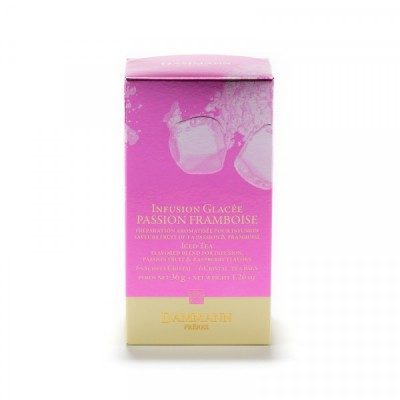 Infusion glacée PASSION FRAMBOISE - boîte 6 sachets Cristal