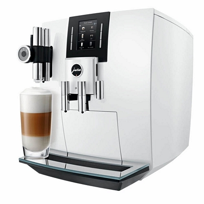 Jura J6 Pianowhite Offre connectée Pfaff (Smart Connect Inclus)