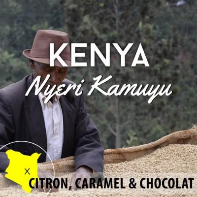 Café en grain KENYA Nyeri - Kamuyu - AA
