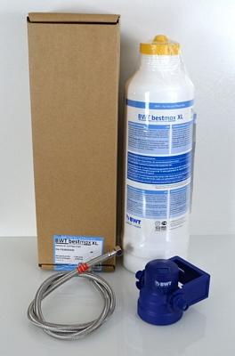 Kit de filtration V : Cartouche V (2500L) + Tête de raccord BestMax - Water & More