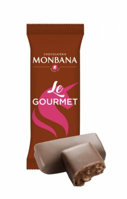 Le Gourmet - gourmandise chocolat au lait aux céréales croustillantes x 200